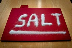 Salt is not good for dogs - it can cause kidney problems