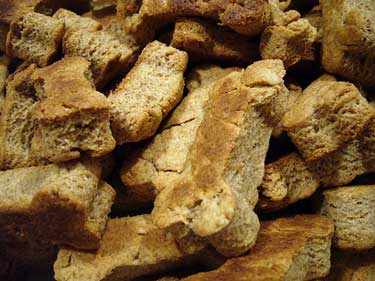 Heaps of healthy dog biscuits
