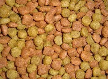 You can buy kibble that's been specially prepared with natural foods to make organic dog food